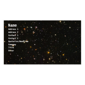 Galaxies Pack Of Standard Business Cards