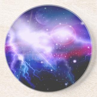 Galaxy 17 drink coasters