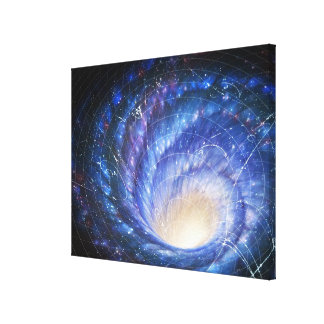 Galaxy 2 stretched canvas prints