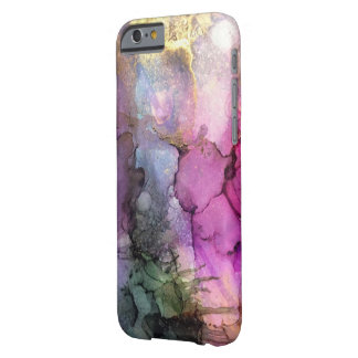 Galaxy - Abstract Ink Art Barely There iPhone 6 Case