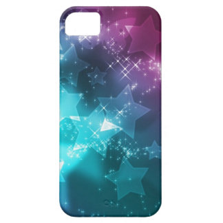 galaxy and stars barely there iPhone 5 case