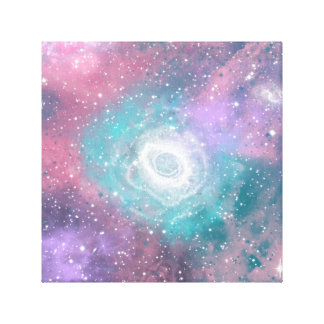 Galaxy and Stars Canvas Prints
