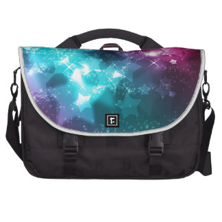 galaxy and stars bag for laptop