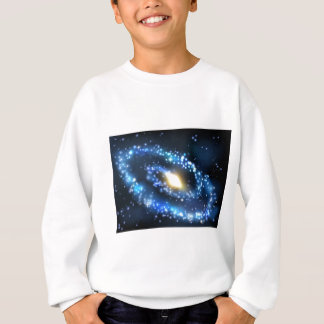 Galaxy and Stars Outer Space Background Sweatshirt
