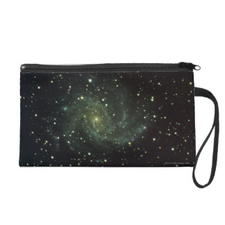 Galaxy and Stars Wristlet