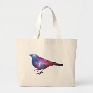 Galaxy Bird Tote Bag