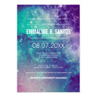 Galaxy Birthday Party Invite