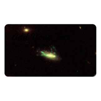 Galaxy C153 in Cluster Abell 2125, Shown in Visibl Business Card Template