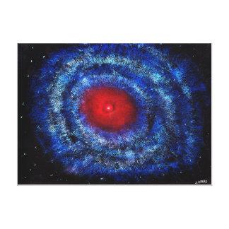 Galaxy Lienzo Envuelto Para Galerías