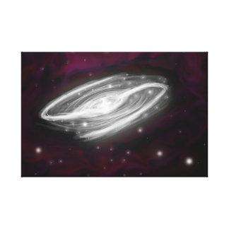 Galaxy Canvas Stretched Canvas Print
