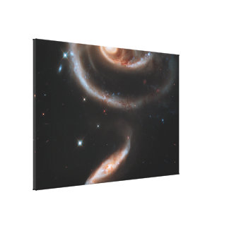 Galaxy Stretched Canvas Print