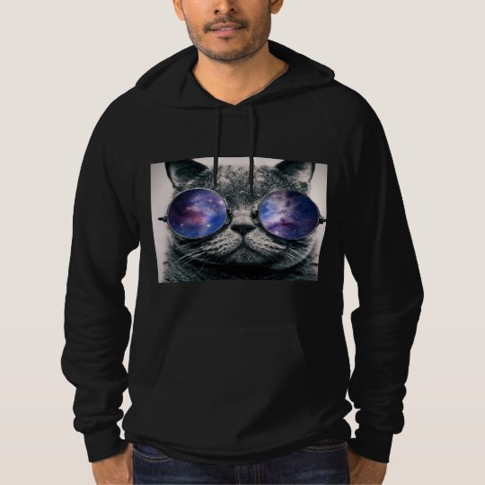 Galaxy Cat Adult Hoodie
