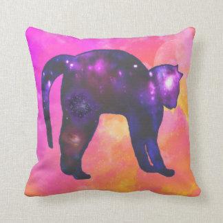 Galaxy Cat Cushion