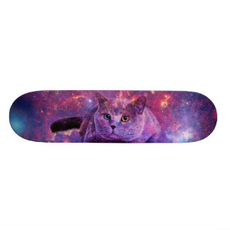 Galaxy Cat Skate Deck