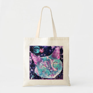 Galaxy Cat Tote Bag