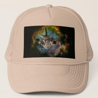 Galaxy Cat Universe Kitten Launch Cap