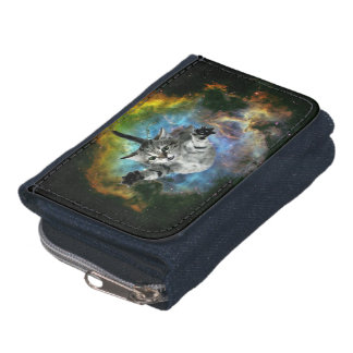 Galaxy Cat Universe Kitten Launch Wallet