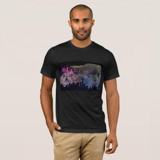 Galaxy Cats Cityscape T-Shirt