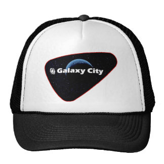 Galaxy City Blue Crescent Patch Trucker Hat
