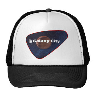 Galaxy City Gas Giant Patch Trucker Hats