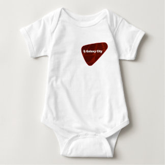 Galaxy City Inverted Pyramid Patch Baby Bodysuit
