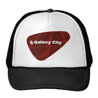 Galaxy City Inverted Pyramid Patch Mesh Hats