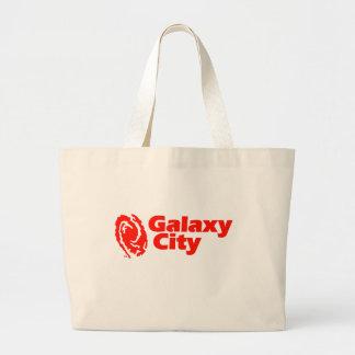Galaxy City Plain Canvas Bags
