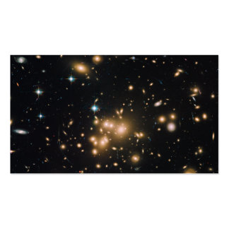 Galaxy Cluster Abell 1689 Business Card Template