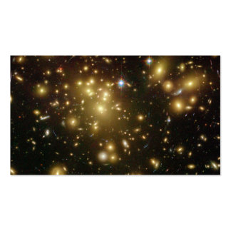 Galaxy Cluster Abell 1689 Business Card Templates