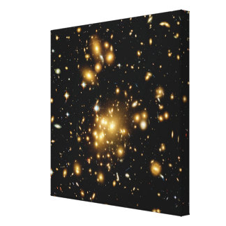 Galaxy Cluster Abell 1689 Canvas Print