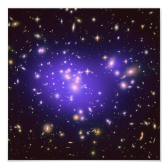 Galaxy Cluster Abell 1689 Photo