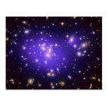 Galaxy Cluster Abell 1689 Postcard