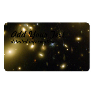 Galaxy Cluster Abell 2218 Business Card Templates