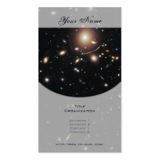 Galaxy Cluster Abell 383 Business Card Template