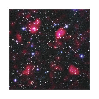 Galaxy Cluster Abell 901/902 Gallery Wrap Canvas