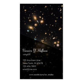 Galaxy Cluster and Gravitational Lens Abell 1689 Business Cards