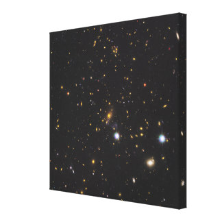 Galaxy Cluster Canvas Print