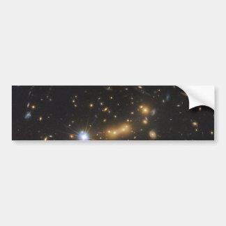 Galaxy Cluster MACS J0647 Bumper Sticker