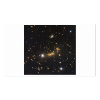 Galaxy Cluster MACS J0647 Business Card Template