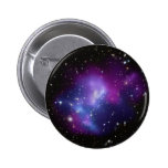 Galaxy Cluster MACS J0717 6 Cm Round Badge