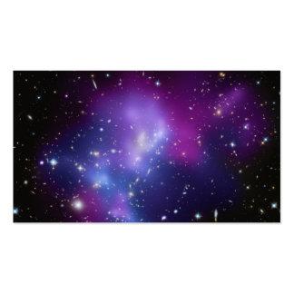 Galaxy Cluster MACS J0717 Business Card Template