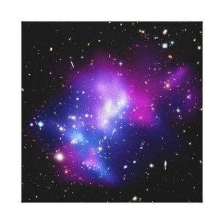 Galaxy Cluster MACS J0717 Stretched Canvas Print