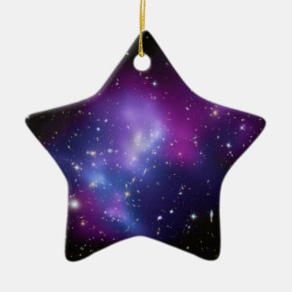 Galaxy Cluster MACS J0717 Christmas Ornament