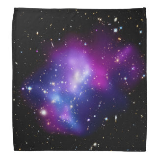 Galaxy Cluster MACS J0717 Head Kerchiefs