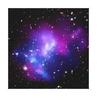 Galaxy Cluster MACS J0717 (Hubble Telescope) Gallery Wrap Canvas
