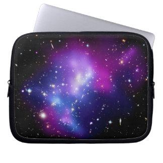 Galaxy Cluster MACS J0717 Laptop Sleeves