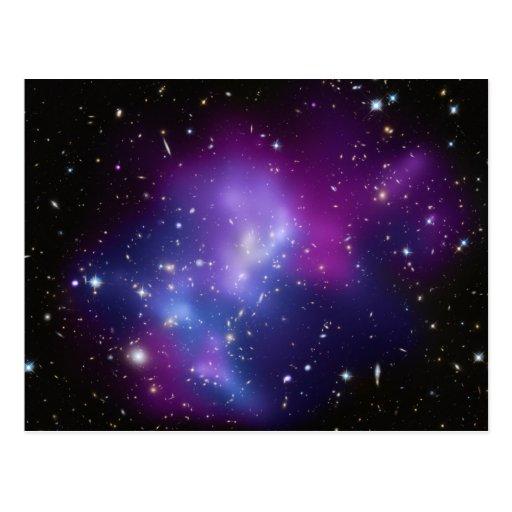 Galaxy Cluster MACS J0717 Postcards
