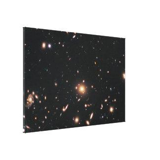 Galaxy Cluster MACS J1720.2+3536 Stretched Canvas Print