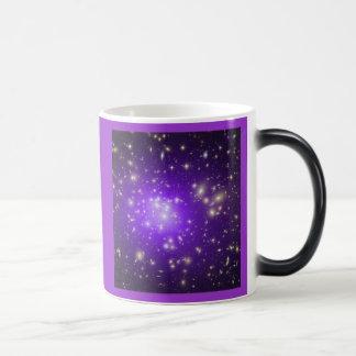 Galaxy Cluster Morphing Mug