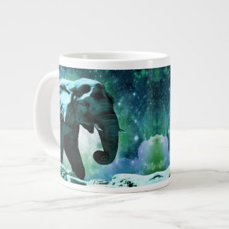 Galaxy Elephant of the Planet Pachyderm Giant Coffee Mug